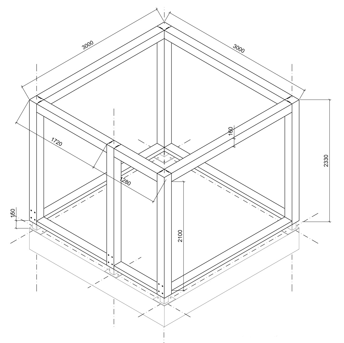 glulam-3d-drawing