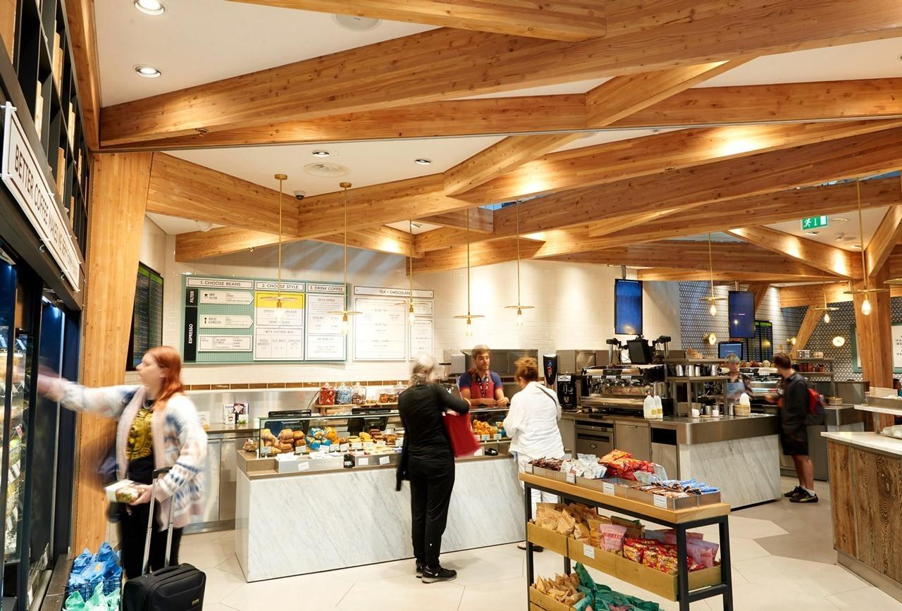 Harris + Hoole - Stansread Airport, London