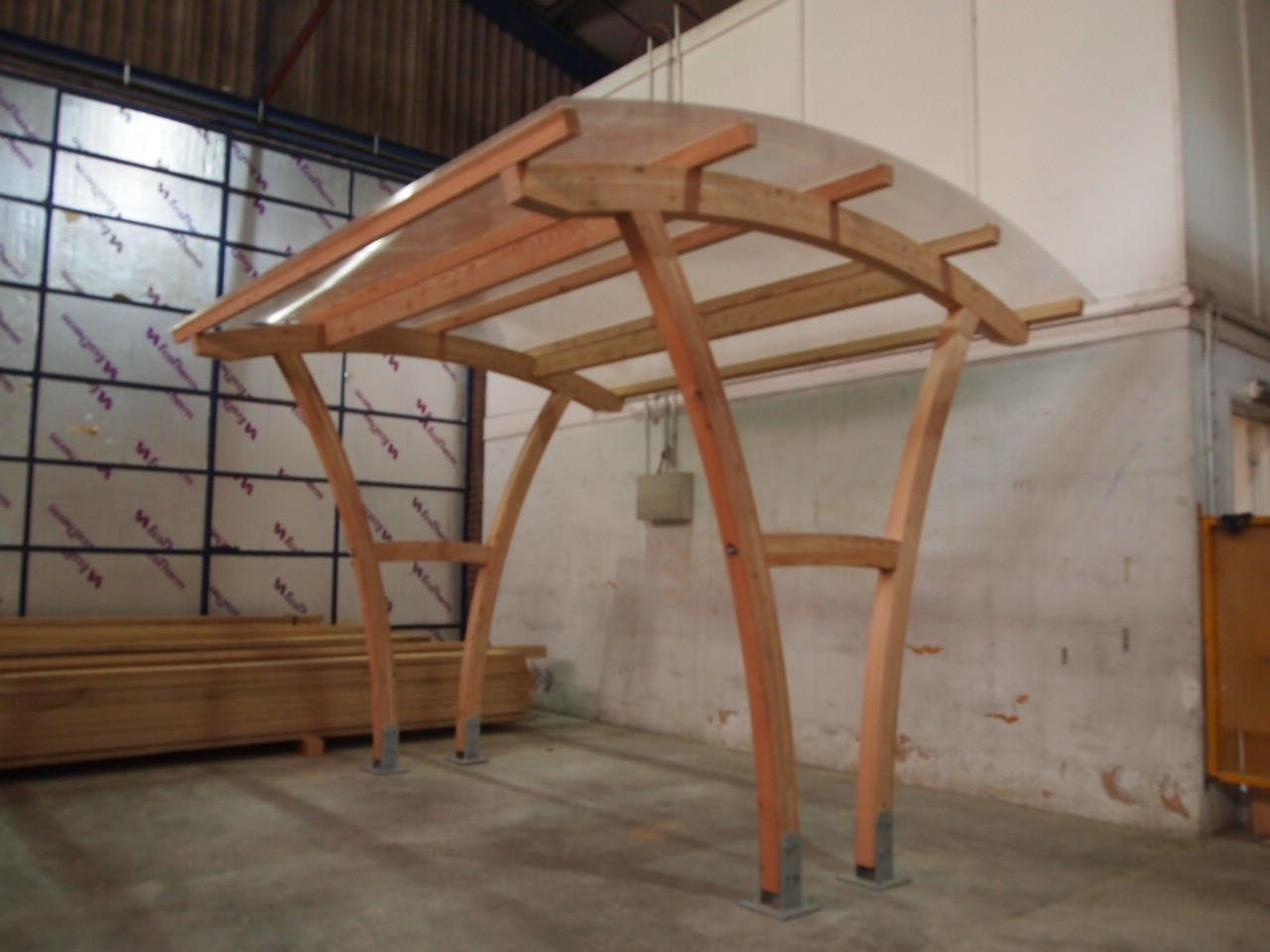 Cycle Shelter – Buckland Timber