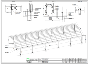 school glulam frame plans